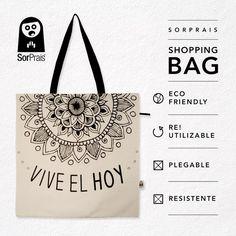 45X45 CM. REUTILIZABLES / PLEGABLES / RESISTENTES Printed Tote Bags, Canvas Tote Bags, Painted Bags, Jute Bags, Shopper Bag, Bag Organization, Cotton Bag, Cloth Bags, Handmade Bags