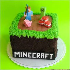 minecraft cake ideas