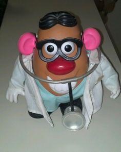 1998 MR. POTATO HEAD DOCTOR GIFT EDITION COMPLETE! picclick.com