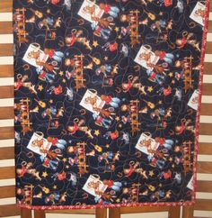 Western Cowboy Quilt Rodeo Blanket Handmade by DesignsbyJuliAnn