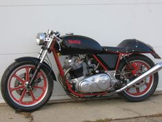 1975 Norton - nice engine but a pain to work on due to the later models having 3 different fastening standards (whitworth, imperial metric), whilst trying to change the tooling over at the factory.