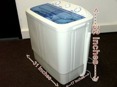 Tiny 2 in 1 Washers and Dryers | Pinterest | Small places, Dorm room ...
