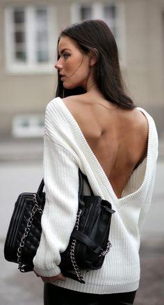 V Back