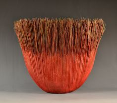 "*Paper Scupture - ""Llano"" by Mary Merkel-Hess Sisal, Paper Art, Paper Crafts, Fabric Structure, Textile Fiber Art, Textiles, Basket Weaving, Amazing Art, Decorative Bowls"
