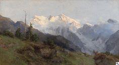 Edward Theodore Compton - Partie in den Alpen