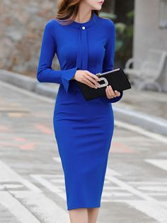 Dressing classy casual for work can be simple especially during the summer time since you have a lot more classy casual options. Classy Casual, Classy Dress, Casual Work Outfit Summer, Sheath Dress, Bodycon Dress, Chic Outfits, Fashion Outfits, Dress Fashion, Dress Silhouette
