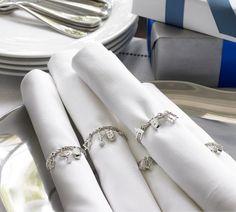 Hanukkah napkin rings