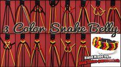 3 Color Snake Belly Tutorial