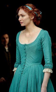 Eleanor Tomlinson as Demelza Poldark 18th Century Dress, 18th Century Fashion, My Fair Lady, Historical Costume, Historical Clothing, Demelza Poldark, Bbc Poldark, Poldark 2015, Little Dorrit