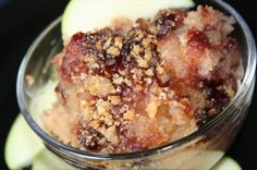 Danish Applesauce Breadcrumb Pudding from Food.com:   								This is an interesting variation on bread pudding I found on the internet.  You can used store bought chunky applesauce instead of making your own.