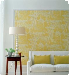JOHN-LEWIS-COLE-SON-CONTEMPORARY-COW-PARSLEY-WALLPAPER-66-7051-YELLOW