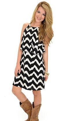 Hazy Halter Dress :: NEW ARRIVALS :: The Blue Door Boutique
