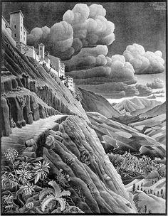 Castrovalva - M.C. Escher