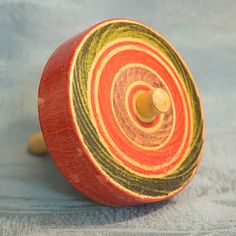 JAPANESE ANTIQUE TOYS   Old Japanese Toy Spinning Top Traditional Style Koma Japan Tokaido ...
