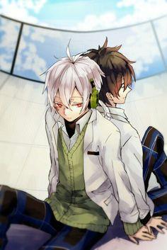 Konoha and Kisaragi Shintaro