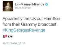 "ask-alex-hamilton: "" Amanda Skinner-king-george-iii WAS THIS YOUR DOING MOTHERFUCKER """