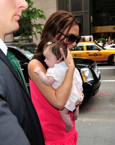 Out in New York with Mom.   - ELLE.com