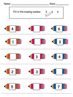 Number Sequencing Activities by theautismhelper.com