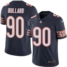 Youth Nike Chicago Bears #90 Jonathan Bullard Limited Navy Blue Team Color NFL Jersey