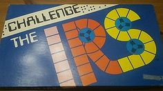 Challenge The IRS 1978 vintage board game B & F marketing complete
