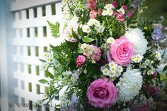Check out the photos from Upper Vista. Photography: Dani Fine Photography Floral Arrangement: Durocher Florist