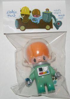Itokin Park Astronaut  http://www.viciousfun.com/kaiju/itokin-park.html