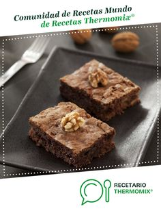 Brownie rápido (Mari Luz Izquierdo) por Thermomix Magazine. La receta de Thermomix® se encuentra en la categoría Dulces y postres en www.recetario.es, de Thermomix® Brownies, Banana Bread, Muffin, Breakfast, Desserts, Recipes, Food, Thumbnail Image, Chocolates