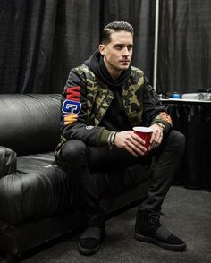 Image about g-eazy in . by Ivana Simeonova G Eazy Poster, G Eazy Style, Fashion Outfits, Mens Fashion, You Are The Father, Creative Writing, Hip Hop, Celebrities, My Style