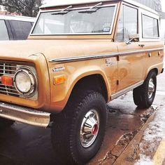 Classic Bronco.