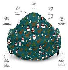 Die Weihnachtszeit 🎅 naht mit schnellen Schritten 🦶- wie wäre es mit dem passenden Outfit dazu? Diese wiederverwendbare Gesichtsmaske sitzt dank verstellbarem Nasenbügel und den elastischen Bändern perfekt. Drawstring Backpack, Shirts, Matching Outfits, Christmas Time, Dress Shirts, Shirt