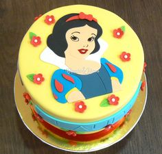 Snow White Princess Cake | Tarta Blancanieves | Tartas y Galletas