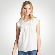 Joie Alexei Top in Porcelain  WAS $298 - NOW $149  Find Joie in Beverly Hills at Jami Lyn on Robertson.