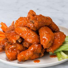 The Best Crispy Buffalo Wings (yummy dinner recipes chicken) Tasty Videos, Food Videos, Videos Video, Recipe Videos, Cooking Videos, Good Food, Yummy Food, Cooking Recipes, Healthy Recipes