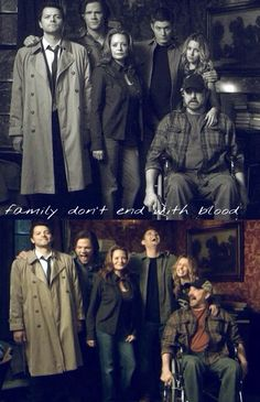 Family don't end with blood #supernatural