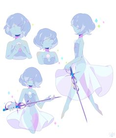 @ Blue pearl, with a sword! Perla Steven Universe, Steven Universe Diamond, Steven Universe Funny, Steven Universe Wallpaper, Pearl Steven, Guache, Universe Art, Star Vs The Forces Of Evil, Blue Pearl