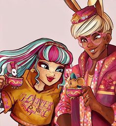"""""""And this is Jasmine, my little dormouse. She is a sleepyhead but she is the best companion you can imagine!"""" ❤ #augustteaodorhare #oc#originalcharacter#art#illustration#princeivy#everafterhigh#topsyturvywonderland#fashiondesign#design#characterdesigns#madelinehatter #earlgrey#jasminetea"""