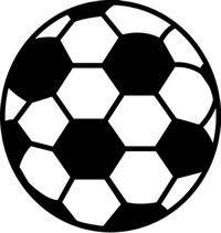Sports Rugs-Soccer Ball Shape Rug