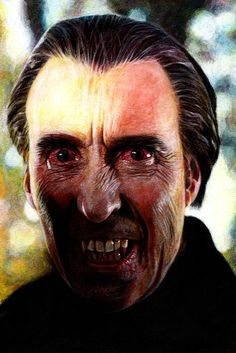 Christopher Lee in Taste the Blood of Dracula by Mark Owen