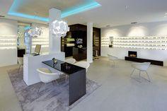 Optik Weiss by Heikaus, Aichtal Germany eyewear store design Top Interior Designers, Shop Interior Design, Best Interior, Retail Design, Store Design, Optical Shop, Store Interiors, Interior Concept, Retail Space