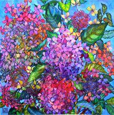 Hydrangeas, Sophia Perina Miller