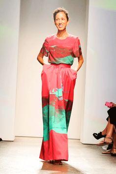 Marimekko S/S 2013 in New York Fashion Week Photo: Billy Farrell Agency
