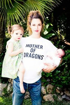 72b40bce9cff92 Drew Barrymore posts a photo with daughters Olive