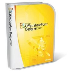 Microsoft Office SharePoint Designer 2007 Version Upgrade [Old Version] - http://www.discountbazaaronline.com/microsoft-office-sharepoint-designer-2007-version-upgrade-old-version/