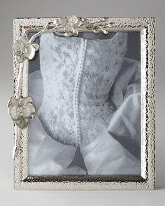 "H6TTN Michael Aram White Orchid 8"" x 10"" Photo Frame"
