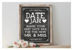 Instant 'DATE JAR Share your best date idea for the by JoJoMiMi