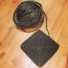 Plastic string bag, the - Daily, handwork. Crochet Tote, Crochet Handbags, Crochet Purses, Crochet Baby, Knit Crochet, String Bag, Crochet Patterns For Beginners, Knitted Bags, Vintage Crochet