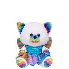 Fairy Build-A-Bear Buddies™ Rainbow Whiskers Kitty - Build-A-Bear Workshop US