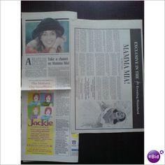 ABBA - ABBA Take A Chance On Mamma Mia! Clippings magazine
