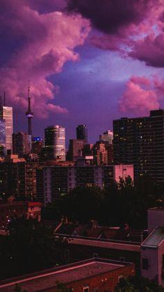 Iphone Wallpaper - ・ ゜。 ・ ゜ ・ City Wallpaper, Aesthetic Pastel Wallpaper, Tumblr Wallpaper, Aesthetic Backgrounds, Wallpaper Backgrounds, Aesthetic Wallpapers, Wallpaper Lockscreen, City Aesthetic, Purple Aesthetic
