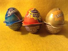 Cadbury Easter Cream Eggs - These are the building blocks for all my animals.